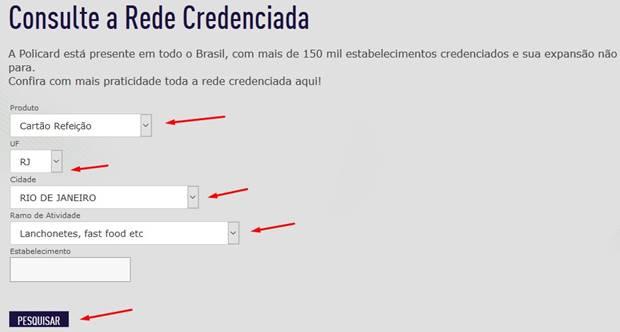 rede credenciada policard